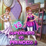 Annie Superhero Vs Princess