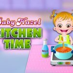 Baby Hazel Kitchen Time