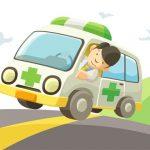Cartoon Ambulance Slide