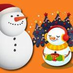 Gravity Snowman Christmas