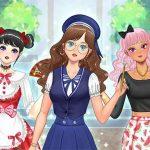 Kawaii High School Teacher Dress Up