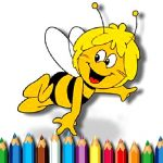 Maja the Bee Coloring Book