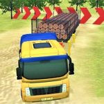 Modern OffRoad Uphill Truck Driving