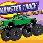 Monster Truck Hidden Keys