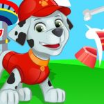 Paw Patrol Puppy Ninja Slice Fruit