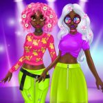 Princess Incredible Spring Neon Hairstyles