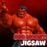 Red Monster Jigsaw