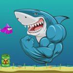 Scary Mad Shark