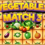 Vegetables Match 3